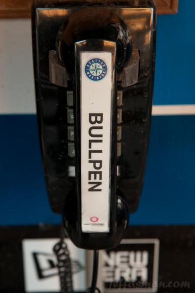 Bullpen phone at Safeco Field.