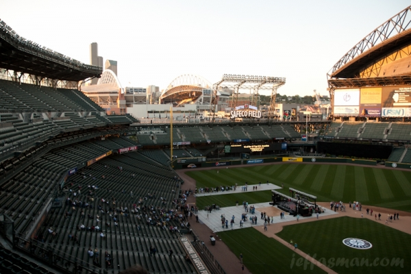 The Government Finance Officers of America conference party at Safeco Field.