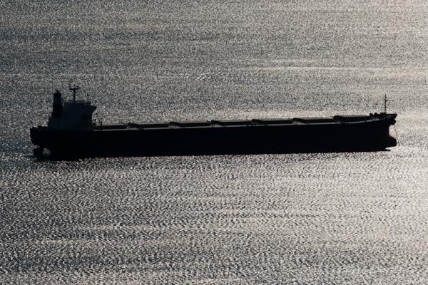 Ship in Puget Sound