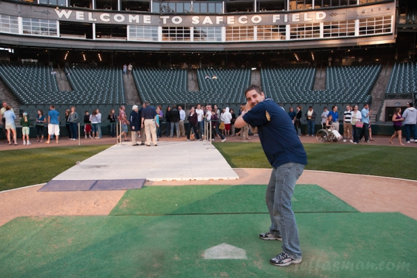 Me, at Safeco Field.